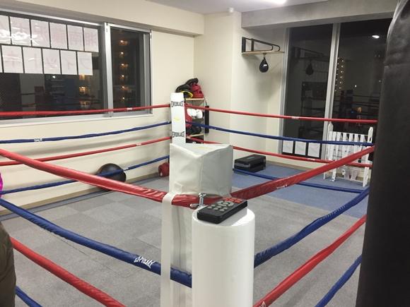 湘南藤沢ボクシングフィットネスジムのリング